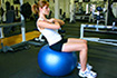 Swiss Ball Core Exercises